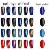 Usine Vente chaude Cat Eye Liquide Gel ongles polonais de l'aimant