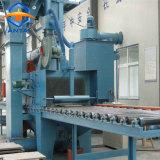Passer à travers le type de rouleau Shot blast machine pour les feuilles d'acier et le profil de l'acier