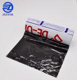Custom Noir&Blanc PE du rouleau de film de protection avec 4 couleurs de l'impression