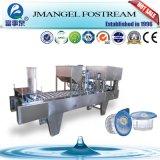 Rotatorio automático de plástico K taza de yogur jalea taza de agua de llenado y sellado de la máquina