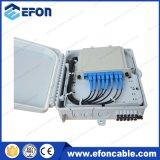 Le dépliement de fibre optique de câble de Lgx de diviseur de cassette de Gpon distribuent les cadres (FDB-08H)