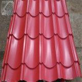 Dx51d Z120 PPGI Pre-Painted Hoja de acero corrugado para la construcción de techos