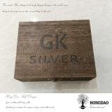 Piedra Box_D del rectángulo del diamante del rectángulo de madera de Hongdao