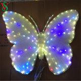Ornamento de Navidad LED Adorno Mariposa de luz para la decoración exterior