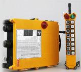 Industrieller elektrischer Hebevorrichtung-Kran, der Kran-drahtloses Fernsteuerungs mit doppelter Geschwindigkeit fährt