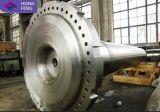 Arbre de usinage de force de turbine de vent d'acier de forge de constructeur de la Chine
