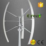 Turbine verticale d'axe de 2 kilowatts avec le T/MN inférieur pour l'usage à la maison