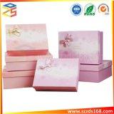 Boîte cadeau personnalisé avec ruban cravate Boîte de Base et couvercle