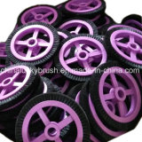 Brosse à picots en noir pur pour machine à textile Monforts petites (AA-426)