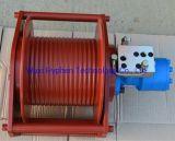 Pequeno guincho hidráulico 2mt para a máquina de elevação ou de puxar