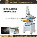 Pneumatisch Automatisch Leer die Vouwend Stempelmachine van de Folie van de Machine de Hete bronzen