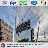 Marco pesado de la estructura de acero para el rascacielos comercial