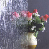 6mm clara decorativas/chuva Bronze-B modelada para banheiro gabinetes de chuveiro em vidro