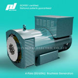 4-Pole 50 / 60Hz (1500 / 1800rpm) High-Efficiency Brushless alternatore