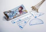 도매 문구용품 PVC 통치자 세트, 템플렛 통치자 문구용품 통치자 세트