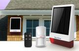 Nuovo allarme di energia solare di GSM della soluzione con la sirena istantanea per uso esterno