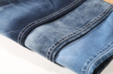 Blue Grey Cotton Stretch 9.6oz Denim Fabric for Jeans