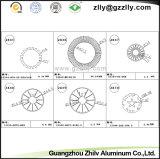 Guangdong Zhilv die CNC de Radiator van het Profiel van het Aluminium machinaal bewerken
