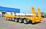 60 тонн lowbed, трейлеры мальчика Tri-Axle сверхмощные низкие