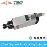 Asse di rotazione quadrato ad alta velocità del router di CNC di raffreddamento ad aria 3.5kw per legno