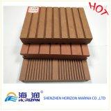 Long Life Life Nature Look WPC Composite PVC Decking / Wood Plastic Composite