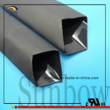 Semi-rigide noir Adhésif Liner Polyoléfine Heat Shrink Tubing
