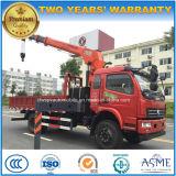 4X2 de 3 van de Kraanbalk Ton van uitstekende kwaliteit van de Vrachtwagen van de Kraan de Vrachtwagen van 5 T Opgezet met Kraan voor Verkoop