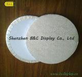 Juntas redondo corrugado torta con 6mm / 9 mm / 12 mm, boads pastel con papel de aluminio (B & C-K054)