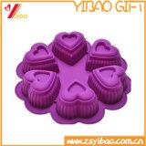 カスタマイズされた台所用品の食品等級のローズの形のシリコーンのケーキ型