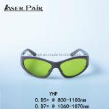 Sport-Lasersicherheits-Schutzbrillen/Sicherheit Glassess/Lasersicherheits-Schutzbrille-hohe Leistung Yhp 800-1100nm für zahnmedizinische Laser, Dioden, Nd: YAG, Faser-Laser