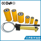Cilindro idraulico di alto tonnellaggio a semplice effetto dei 100 martinetti idraulici di tonnellata