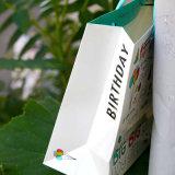 ハンドルの印刷の習慣のアートワークが付いている高品質の紙袋