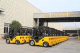 Mast-Seiten-Schaltdieselchina-Gabelstapler der UNO-neue 2.5 Tonnen-2500kg Triplex
