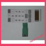 Teclas de Controle Remoto Interruptor de Membrana de Conector de Chave de Sobreposição Gráfica