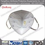 Mascherina di polvere protettiva non tessuta a gettare N95, mascherina nera della valvola