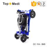 4つの車輪の軽量の容易な折りたたみの電気移動性のスクーターTew039