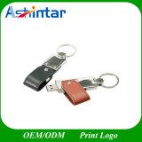 Unidade Flash USB de couro PU chave USB disco flash USB