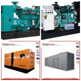 60kVA 48kw AVR Shangchai Genset Diesel para a casa da chacina