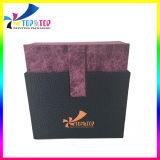 Rectángulo cosmético de papel de sellado caliente de la insignia de la fábrica de Shenzhen