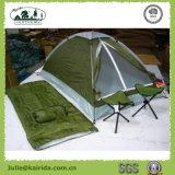 Insieme combinato di campeggio con i sacchi a pelo della presidenza