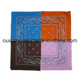 Cheap Custom Printing Cottton Square Doo Rag Bandana para venda