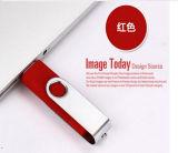 2 in 1 USB della parte girevole OTG dalla fabbrica della Cina