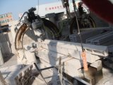 Nuova macchina romana automatica di processo della tagliatrice di Cut& della pietra della scanalatura della colonna 2017