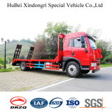 FAW Mini camion à plateau pour chargement des machines de construction