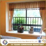 Balaustres decorativos hermosos simples modernos del hierro labrado, pasamano de interior del balcón