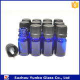 Blue Color 5ml 10ml Mini Glass Perfume Dropper Bottle