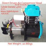 pista rotatoria portable del compresor de aire del diafragma del tornillo 3HP