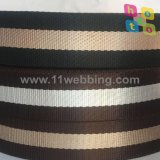 Tessitura a strisce ecologica del poliestere di Coutom di vendita della fabbrica per gli accessori del sacchetto