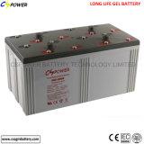 Bateria 2000ah do gel do silicone da luz de rua 2V da potência solar