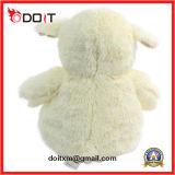 Giocattolo dell'agnello della peluche del giocattolo dell'agnello farcito peluche molle bianca su ordinazione